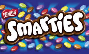 Шоколадное драже Smarties