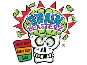 Кислые конфеты Brain Blasterz