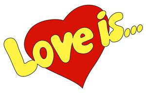 Жевательная резинка и конфеты LOVE IS