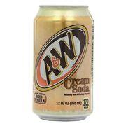 Газировка Cream Soda A&W 355 мл, фото 1