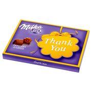 Подарочный набор шоколадных конфет с пралине Milka Thank You 120 гр, фото 1