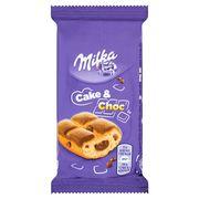 Мини-пирожное с шоколадной начинкой и кусочками шоколада Milka Cake & Choc 35 гр, фото 1