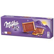 Хрустящие бисквиты в молочном шоколаде Milka Choco Biscuit 150 гр, фото 1