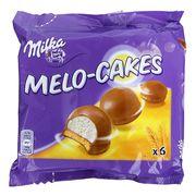 Печенье с куполом суфле в молочном шоколаде Milka Melo-Cakes 100 гр, фото 1