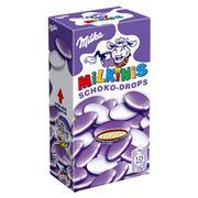 Шоколадное драже с молочным кремом Milka Milkinis Schoko Drops 42 гр, фото 1