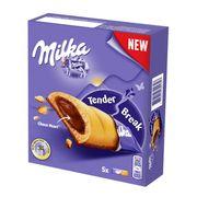 Бисквитные батончики с шоколадным кремом Milka Tender Break 130 гр, фото 1