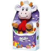 Подарочный набор плюшевая игрушка и шоколад Milka MAGIC MIX 96 гр, фото 1