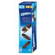 Тонкое шоколадное печенье с ванильной начинкой Oreo Crispy&Thin 96 гр, фото 1