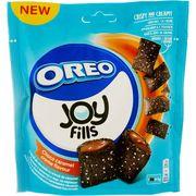 Хрустящие подушечки с карамельной начинкой Joyfills OreoChoco Caramel Biscuits Soft 90 гр, фото 1