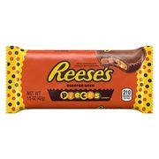 Шоколадные тарталетки с арахисовой пастой и хрустящим драже Reese's Pieces 42 гр, фото 1