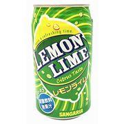 Sangaria Lemon&Lime Газированный напиток со вкусом лимона и лайма 350 мл, фото 1