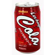 Sangaria Los Angeles Cola Газированный напиток со вкусом колы 350мл, фото 1