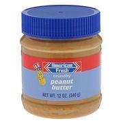 Арахисовая паста с дробленым орехом American Fresh Crunchy 340 гр, фото 1