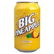 Газировка со вкусом ананаса BIG PINEAPPLE 355 мл, фото 1