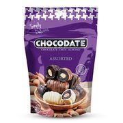Финики в ассорти шоколада Chocodate Exclusive Pouch Assorted 100 гр, фото 1