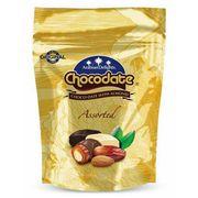 Финики с миндалем в ассорти шоколада Chocodate Classic Pouch Assorted 90 гр, фото 1