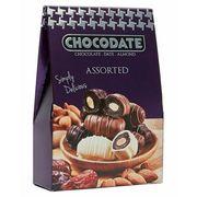 Финики в шоколаде ассорти Chocodate Exclusive ON the GO Assorted 33 гр, фото 1