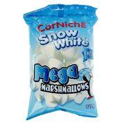 Зефир Cнежок белый мега маршмеллоу CorNiche Snow White Mega 120 гр, фото 1