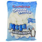 Зефир Cнежок белый мега маршмеллоу CorNiche Snow White Mega 300 гр, фото 1