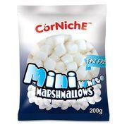 Зефир белый мини маршмеллоу CorNiche Mini White 200 гр, фото 1