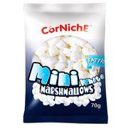 Зефир белый мини маршмеллоу CorNiche Mini White 70 гр, фото 1