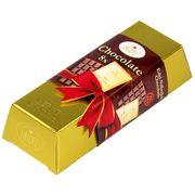 Золотой Слиток молочный шоколад Heidel Large Gold Bar 80 гр, фото 1