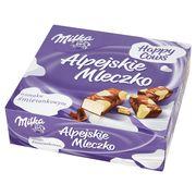 Птичье молоко в белом и молочном шоколаде Milka Alpine Milk Happy Cows 330 гр, фото 1
