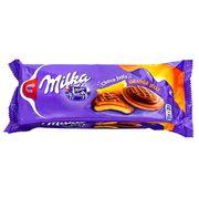 Бисквитики с апельсиновым джемом в шоколаде Milka Jaffa Orange 147 гр, фото 1