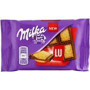 Молочный шоколад с печеньем Milka LU 35 гр, фото 1