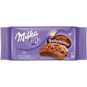Большое шоколадное печенье для разогрева Milka Sensations Choco 156 гр, фото 1