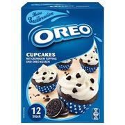 Смесь для выпечки 12 кексов с кремовой начинкой Oreo Cupcakes 280 гр, фото 1