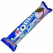 Печенье c кремом черничное мороженое Oreo Ice Creme 137 гр, фото 1