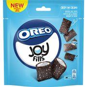 Хрустящие подушечки с ванильной начинкой Joyfills Oreo Biscuits Vanilla 90 гр, фото 1