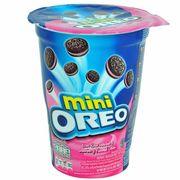 Мини-печенье с клубничным кремом Oreo Mini Strawberry Cream 61 гр, фото 1
