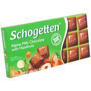 Молочный шоколад с лесным орехом Schogetten 100 гр, фото 1