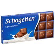 Шоколадная плитка Альпин Милк Schogetten 100 гр, фото 1