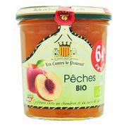 Джем из персика 64% фруктов Organic 350 гр, фото 1