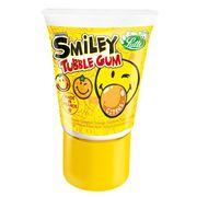 Жидкая жвачка апельсиновый вкус Tubble Gum Smiley Citron Lutti 35 гр, фото 1