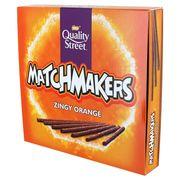 Nestle Quality Street Matchmakers Zingy Orange Шоколадные палочки 130 гр, фото 1