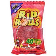 Жевательная резинка Rip Rolls Strawberry 40 гр, фото 1