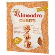 Кубики миндаль 27% и злаки с соленой карамелью El Almendro 35 гр, фото 1