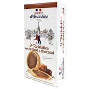 Тарталетки с соленой карамелью и молочным шоколадом Les Preferes d'Amandine 125 гр, фото 1