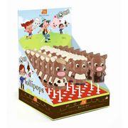 Фигурный молочный шоколад на палочке Веселая ферма Belfine 35 гр x 21 шт, фото 1