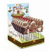 Молочный фигурный шоколад на палочке Герои сказок Belfine 35 гр x 21 шт, фото 1