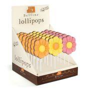 Фигурный молочный шоколад на палочке Цветок Belfine 35 гр x 21 шт, фото 1