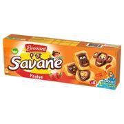Пирожное Savane P'tit с клубникой Brossard 150 гр, фото 1