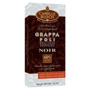 Горький шоколад с граппой Camille Bloch Grappa Poli Noir 100 гр, фото 1