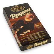 Горький шоколад с трюфельной начинкой и целыми лесными орехами Ragusa Noir 100 гр, фото 1
