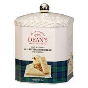 Печенье сливочное в подарочной жестяной банке All butter Shortbread Selection Dean's 600 гр, фото 1