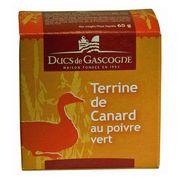 Паштет из утки с зеленым перцем Ducs de Gascognе 65 гр, фото 1